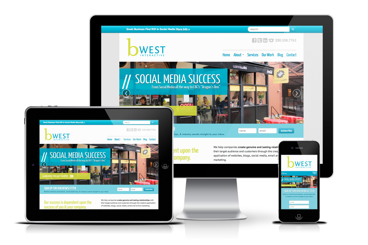 Web Design Showcase Of Bwest.ca ...